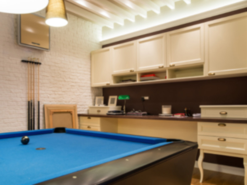 basement game room designers Indianapolis IN