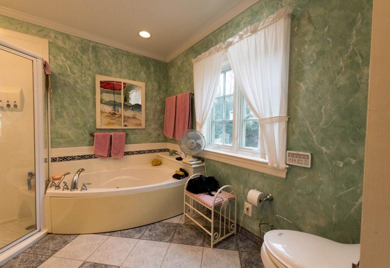 Bryn Mawr master bath before remodeling