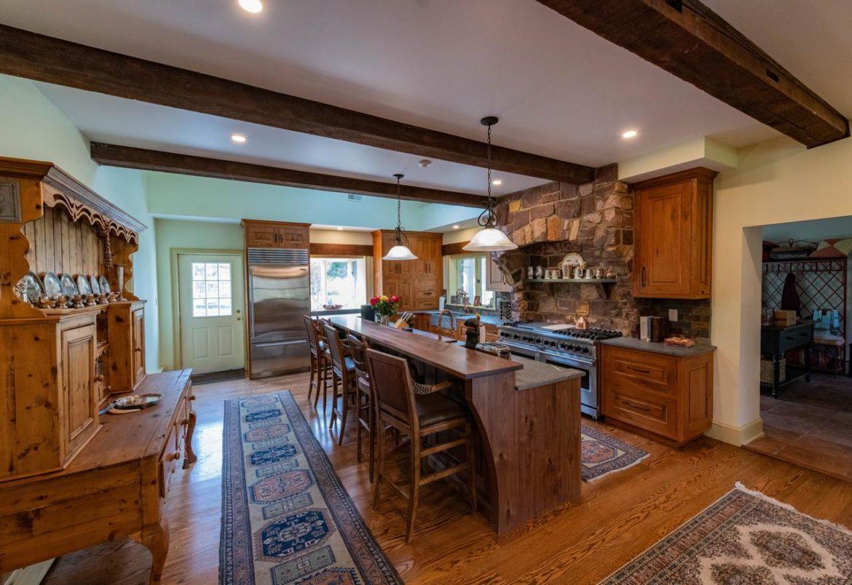 Doylestown rustic kitchen remodel