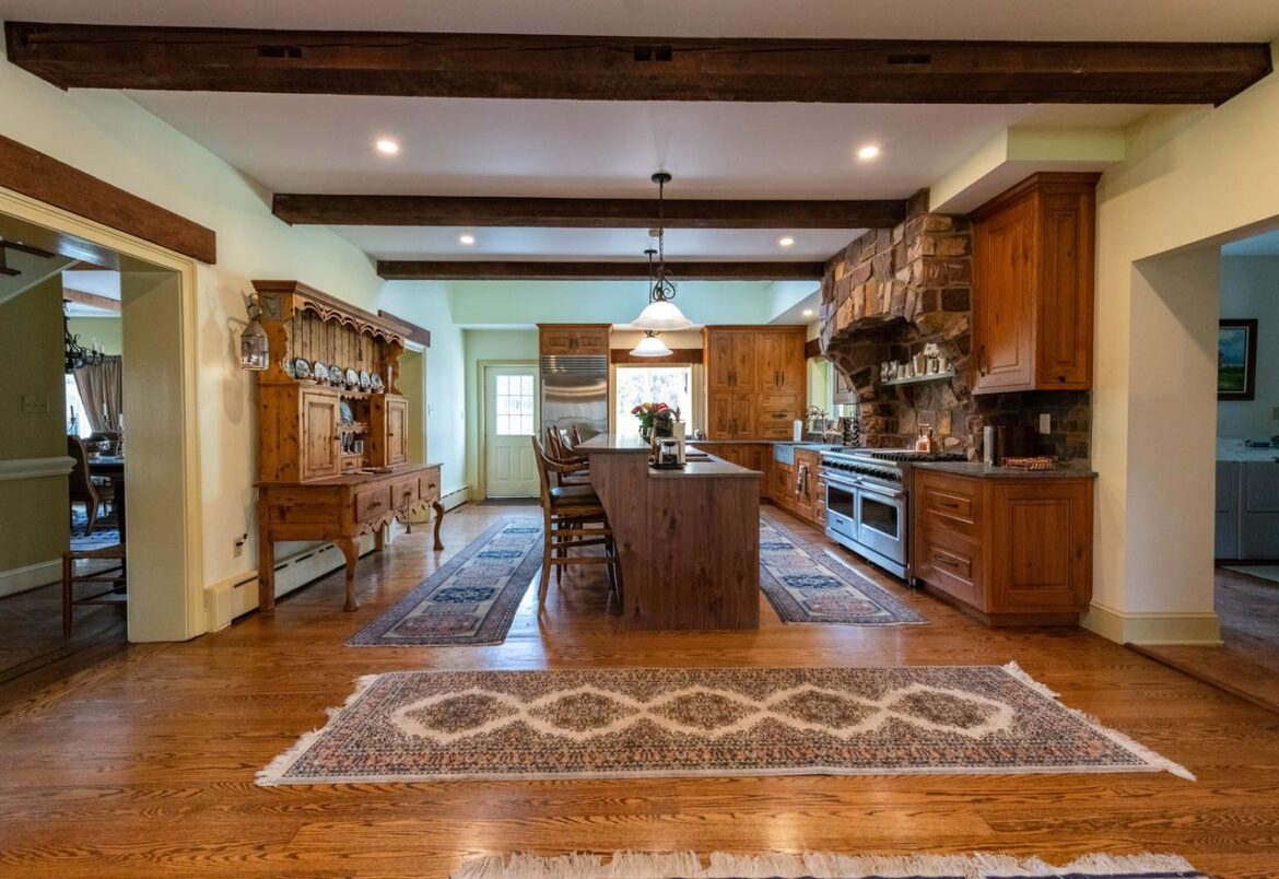 Doylestown rustic kitchen remodel marrying design styles