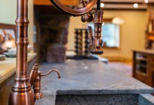 Doylestown rustic kitchen remodel: marrying design styles