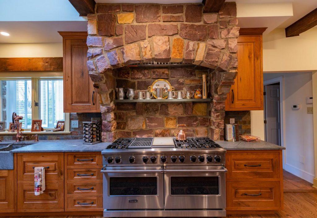Doylestown rustic kitchen remodel marrying design styles