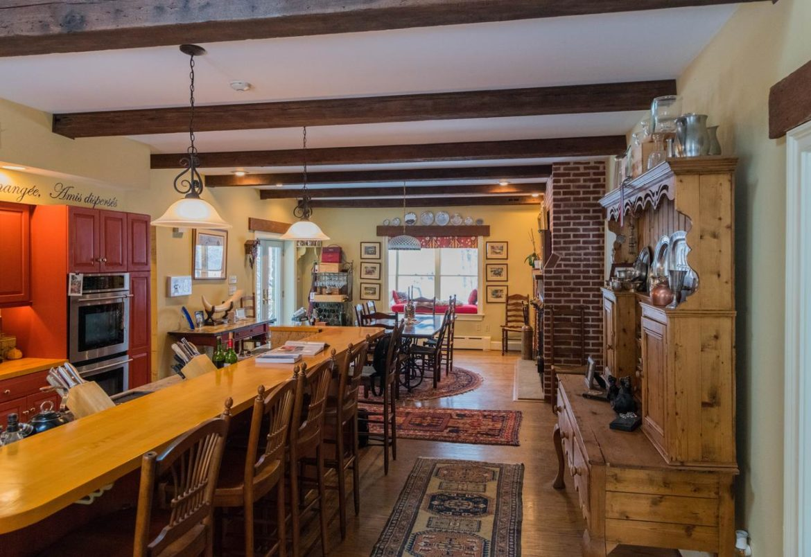 Doylestown rustic kitchen before remodeling