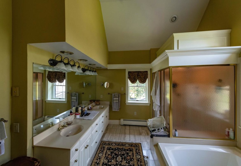 Doylestown rustic master suite before remodeling