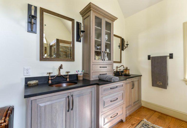 Doylestown rustic design master suite remodel