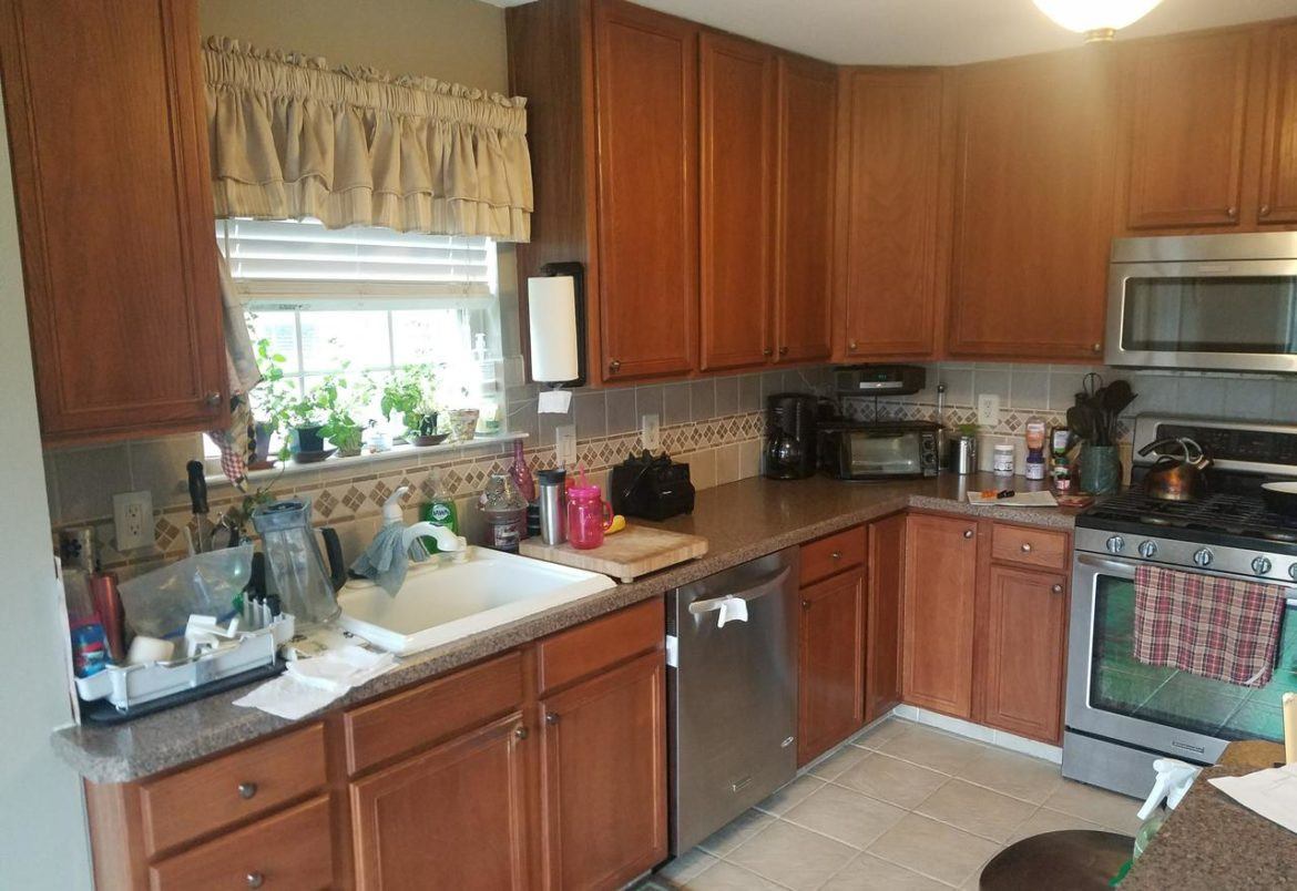 Jamison kitchen before remodeling