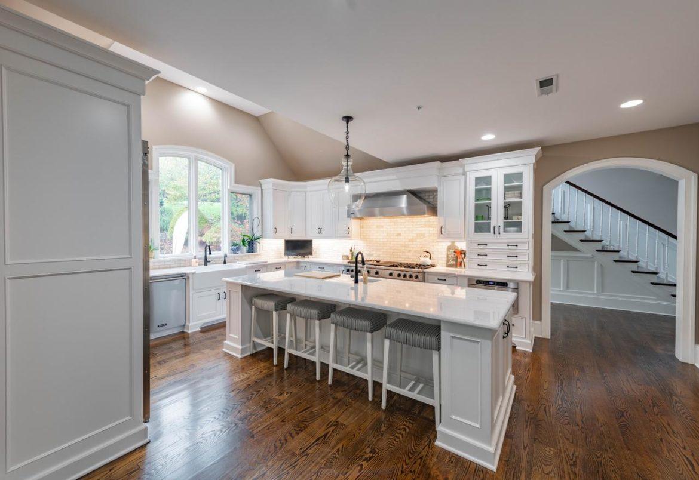 Newtown Square kitchen mudroom remodel