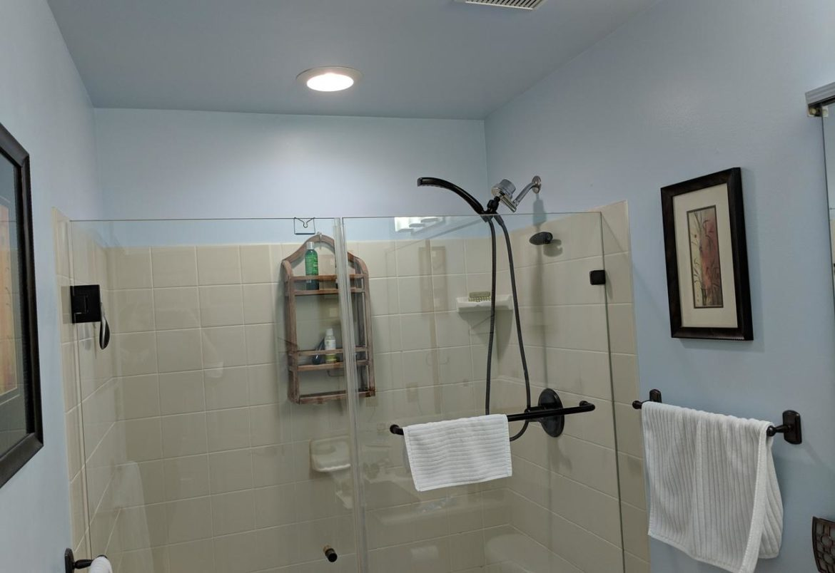Phoenixville guest bath before remodeling