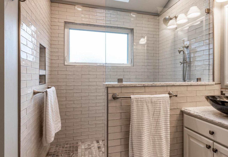 Phoenixville master bath remodel