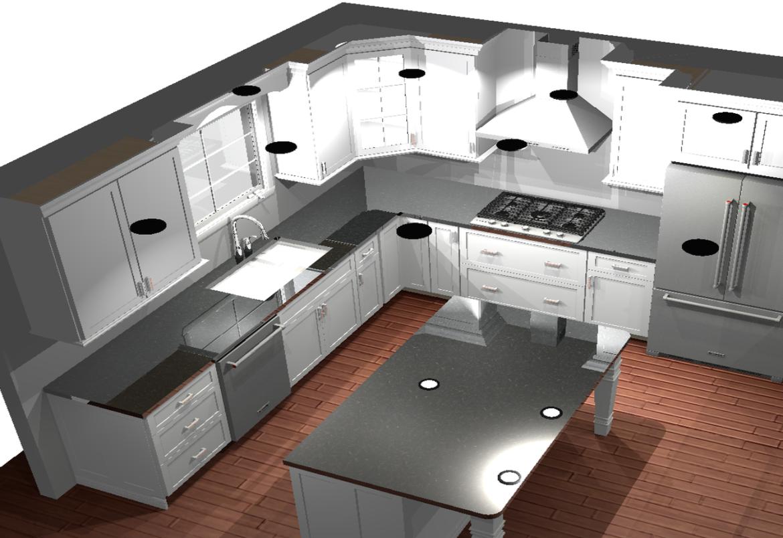 Southampton kitchen drawing
