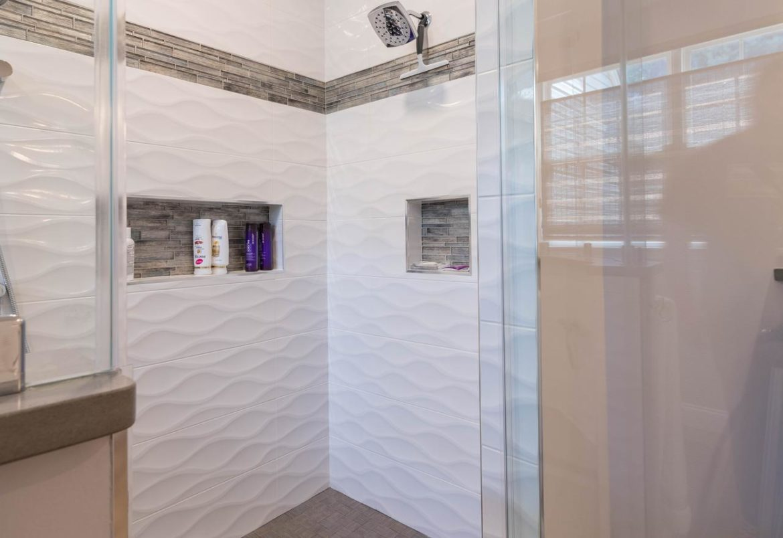 Warrington master bath remodel