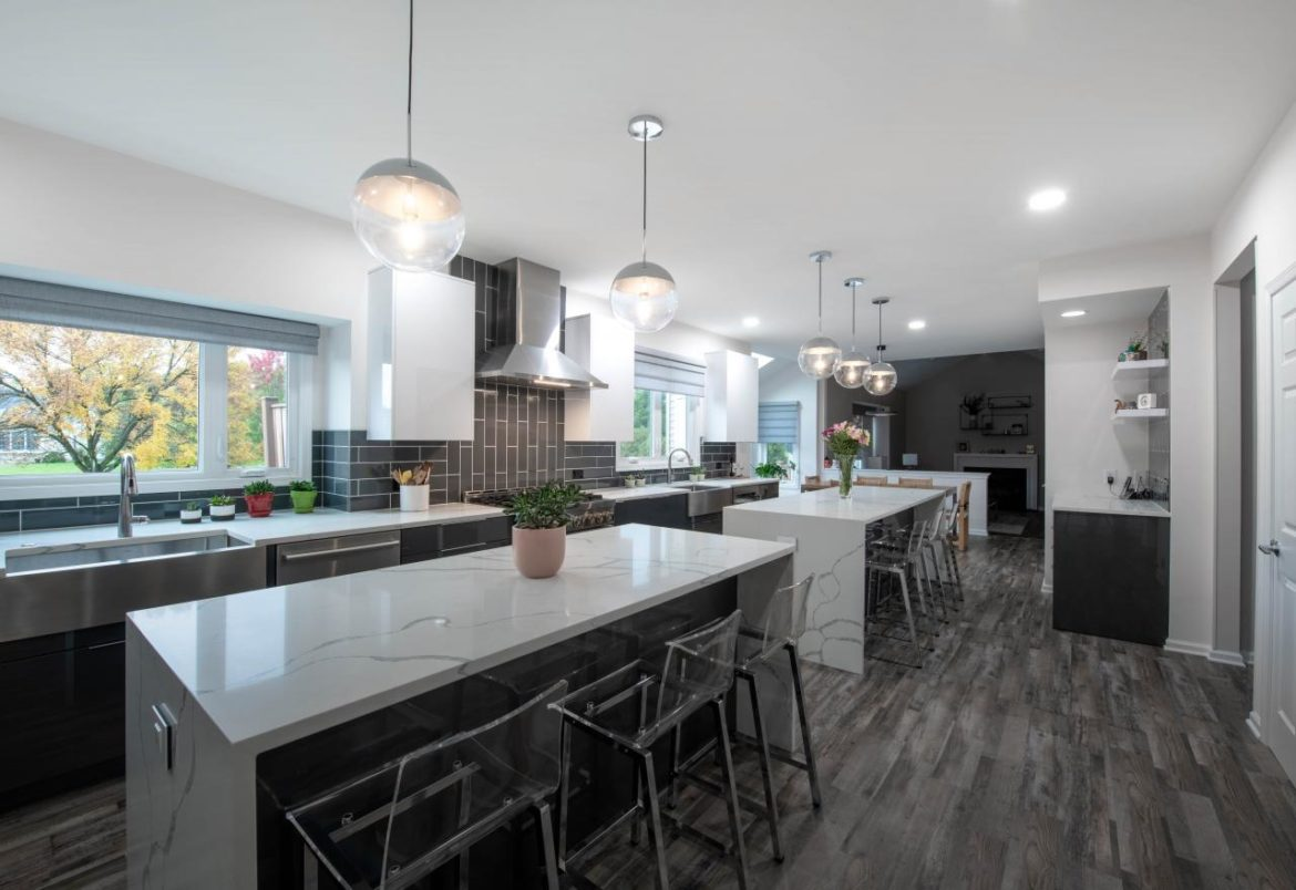 Contemporary kitchen remodel by Luxury Bath and Kitchens