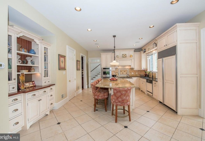 Gladwyne kitchen & 1st floor remodel before