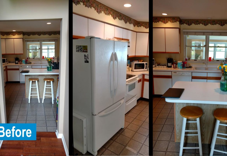 Langhorne kitchen before remodeling