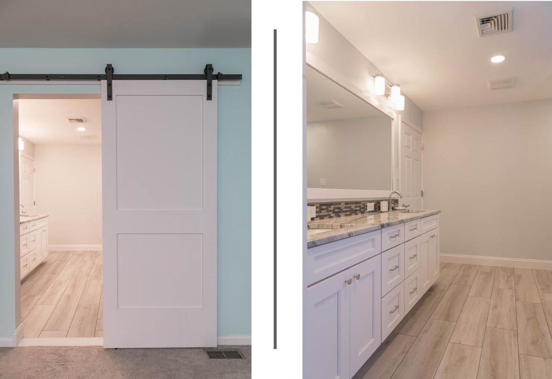 Quakertown bathroom remodel