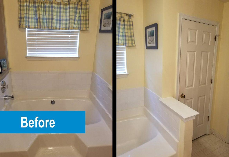 Quakertown bathroom before remodeling