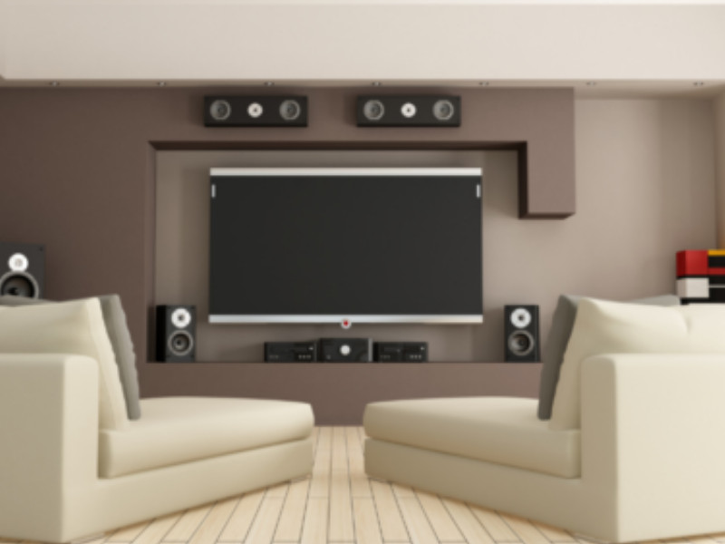 basement modern game room remodel