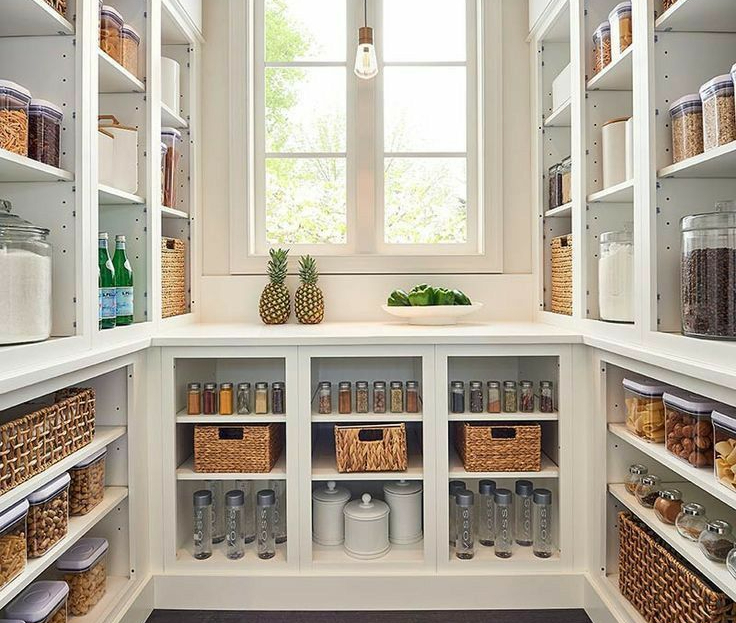 mother-in-law suite pantry space