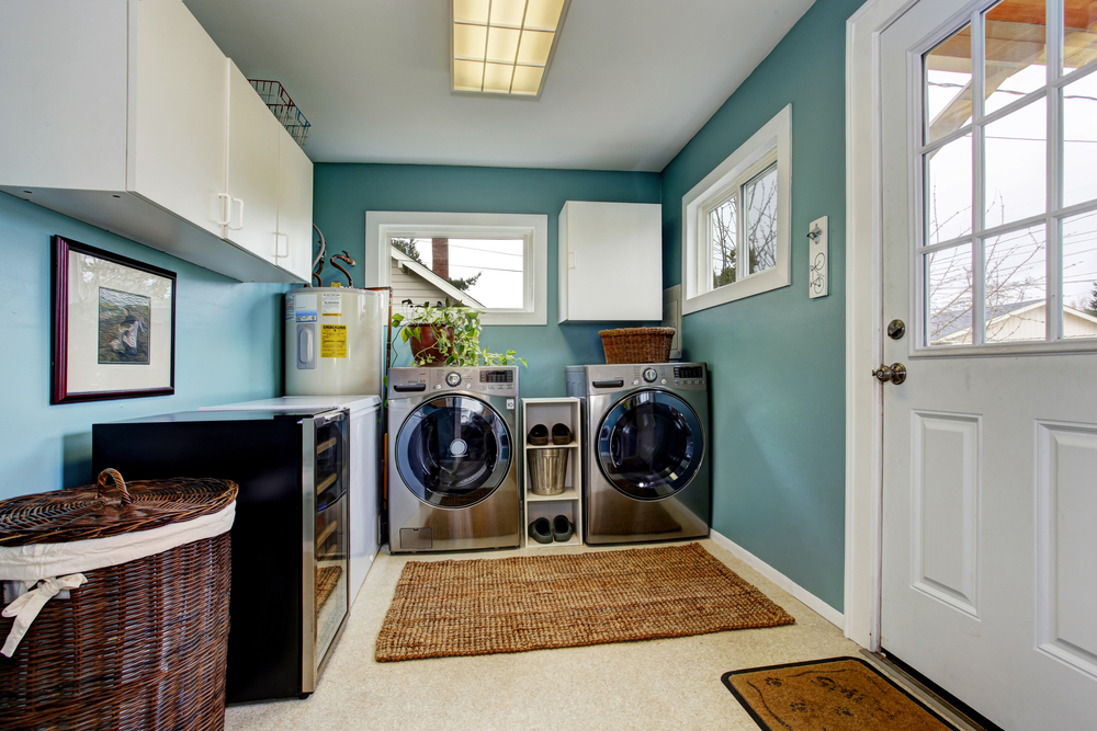 laundry room home addition