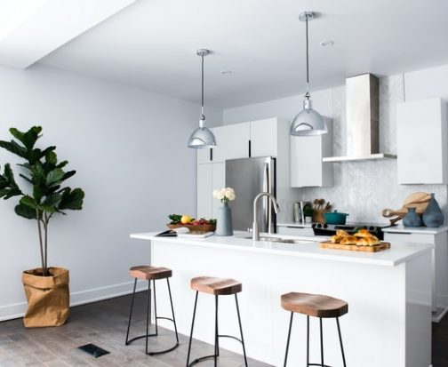 airy remodeled kitchen